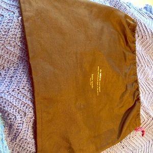 Brown Kate Spade dust bag